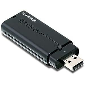 TRENDnet Wireless N USB Adapter TEW-644UB