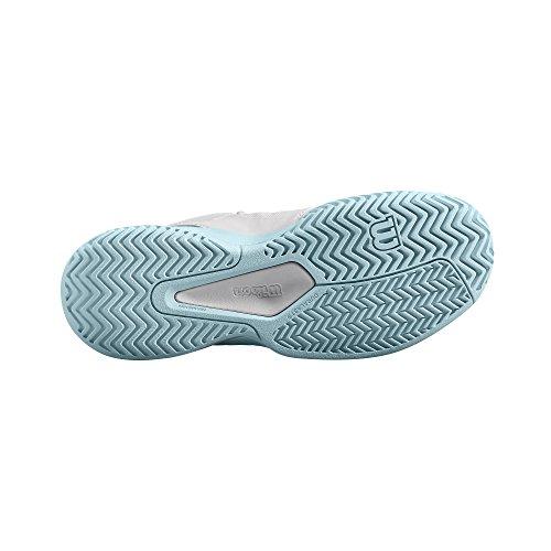Rush W Femme Blanc Bleu De Wilson Provincial Blue Glow Comp Tennis Chaussures 7YFHxIwq