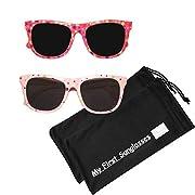 MFS -Wayfarer-110mm-Hot Pink and Light Pink- 2 Pack