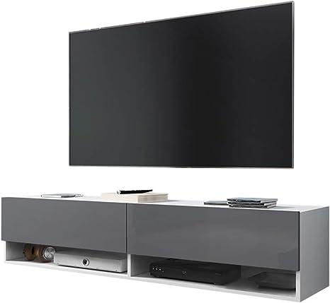 Senderismo – Armario/TV de Mueble para televisión en Blanco Mate ...