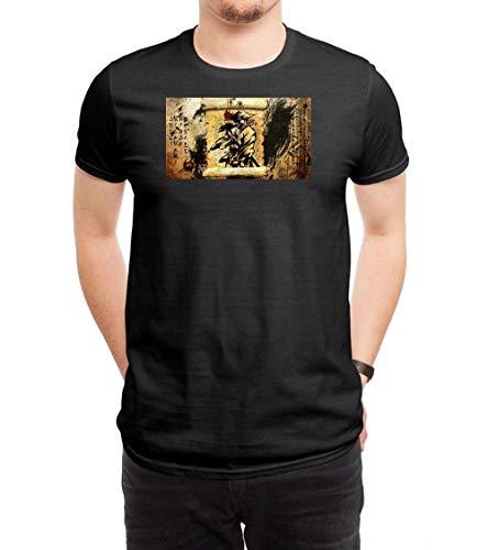 XIAOMINGYI Ninja Scroll Men's Black T-Shirt