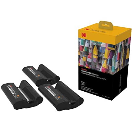 Kodak Dock & Wi-Fi Photo Printer Cartridge PHC - Cartridge Refill & Photo Sheets - 40 Pack KPHC-40
