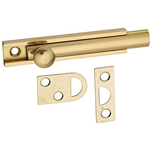 - National Hardware N197-970 V1922 Flush Bolt in Solid Brass