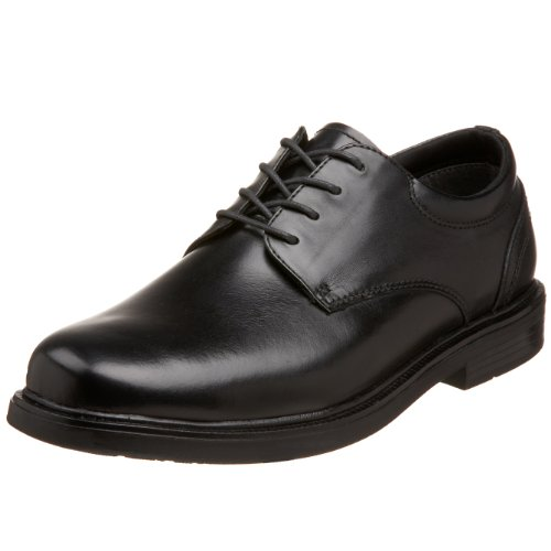 nunn bush black dress shoes - 7
