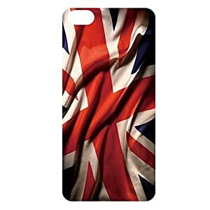 QHY Waving Flag Pattern PC Back Case for iPhone 5C
