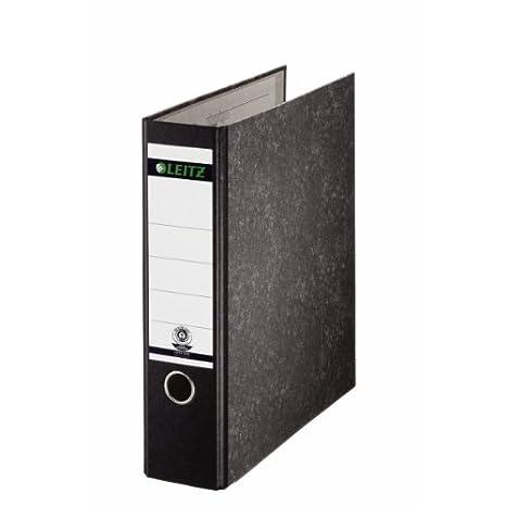 Leitz 10700000 - Archivador sin anillas 180° A4, color negro: Amazon.es: Oficina y papelería