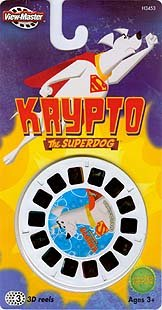 Krypto The Superdog View-Master 3D 3 Reel Set