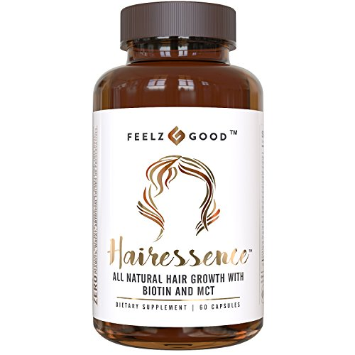 ral Hair Growth Vitamin Formula - Stronger Healthier Hair. Scientifically Formulated w/ Biotin MCT Vitamin B1 Folate & more- Supplement For All Hair Types - Veggie Capsules (Conditioner Vitamin B-12)