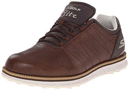Brown Golf Shoe - 1