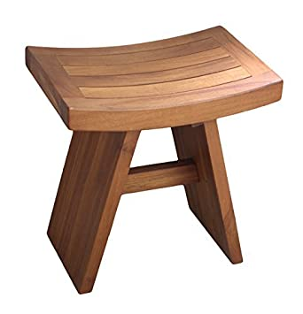 Genial The ORIGINAL 18 ASIA Teak Shower Bench By Aqua Teak