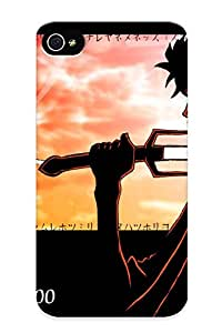 Exultantor Tpu Case For Iphone 4/4s With Samurai Champloo, Nice Case For Thanksgiving Day's Gift