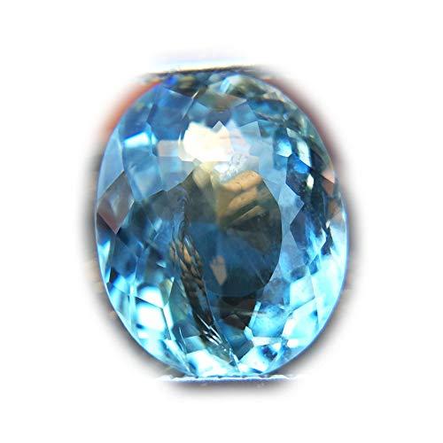 Aquamarine Brazil Blue (Lovemom 2.85ct Natural Oval Unheated Aqua Blue Aquamarine Brazil #W)