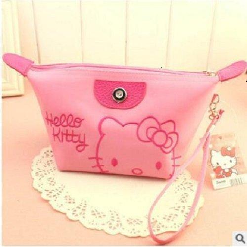 Cosmetic Bag - Hello Kitty - Sanrio Mania Wristlet Pink - Bag Kitty Cosmetics Hello