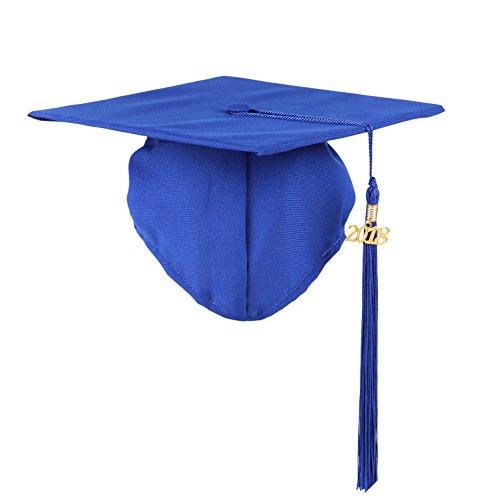 Graduation Unisex Matte Adult Graduation Cap with Tassel - Hat Tassel Graduation
