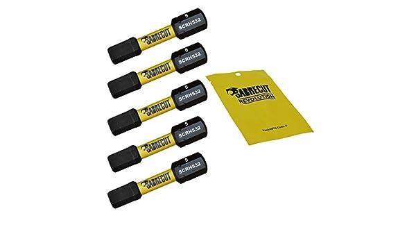 SabreCut SCRH532_5 - Juego de 5 puntas para destornillador de ...