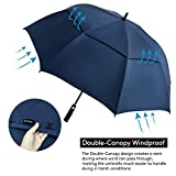 ZOMAKE Golf Umbrella 62 Inch, Large Windproof