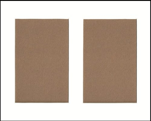 Pack of 5 11x14 White Picture Mat, for 2 5x7 Photos or Pictures Bux1 Picture Matting 4336896247