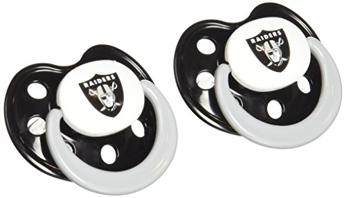 NFL Oakland Raiders Pack Pacifier