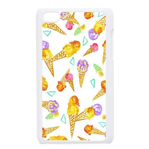 Ice Cream Personalized Durable Hard Back Cover Case for iPod Touch - Ice Ipod 4 Cases Cream