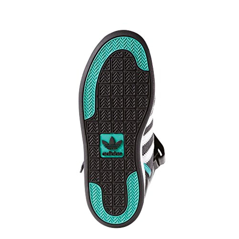 adidas VARIAL MID J - Sneakers Skateboard for Boys, 33, Black