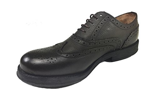 in uomo stile gomma fondo inglese Marrone VERA PELLE casual Scarpe elegante 2105 qtYxdwpp7