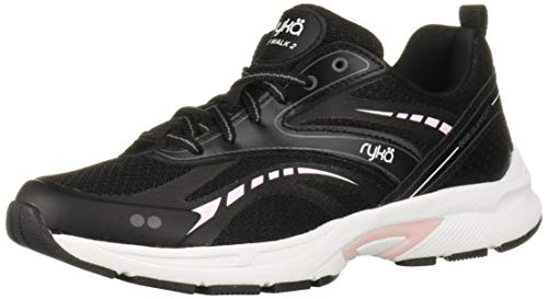 Ryka Women's Sky Walk 2 Walking Shoe, Black, 8 M US