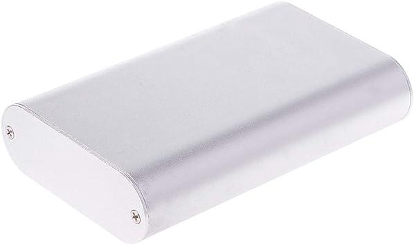 qianqian56 - Caja de Instrumentos electrónica (Aluminio, 110 x 70 x ...