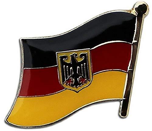 Kaputar Germany [Eagle] Flag Lapel Hat Pin Fast USA Shipping | Model FLG - 8031