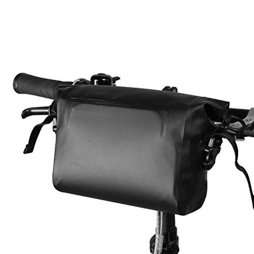 winomo Fahrrad Lenkertasche vorne Körbe schwarz Bag Umhängetasche Wasserdicht