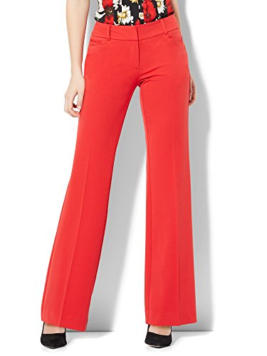 New York & Co. Women's 7Th Avenue Pant - Bootcut - Signature - 18 Big Apple Red (Womens Suit Tall)