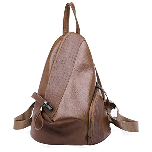 in per all'acqua nero viaggi resistente e pelle da college donna vintage tracolla Ellipse outdoor marrone a Borsa wqz1vIn
