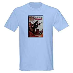 CafePress Join the Seabees Light T-Shirt Cotton T-Shirt from CafePress