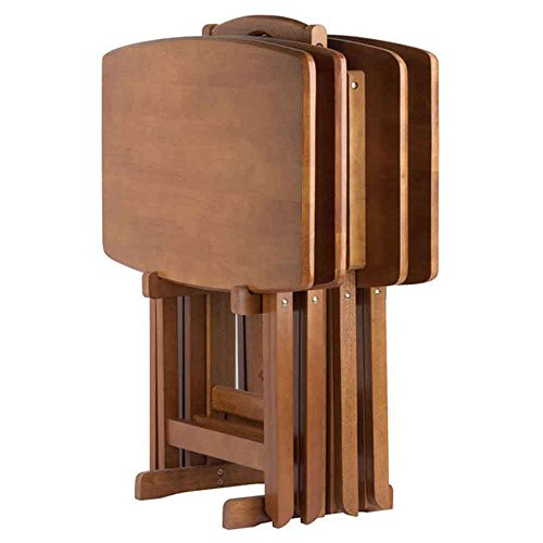 Winsome Wood 33517-WW Dylan Snack Table Teak