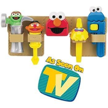 Amazon Com Sesame Street Elmo Toolbench Replacement Tools