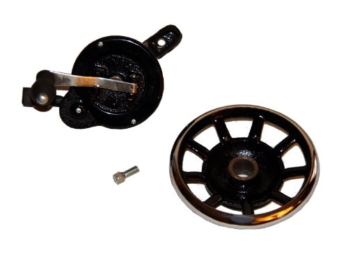 Sewing Gismo Hand Crank and Spoked Wheel with Bolt