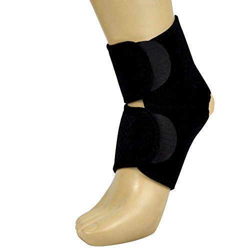 KoolFree Breathable Holes Ankle Brace Sleeve Support 1pc,...