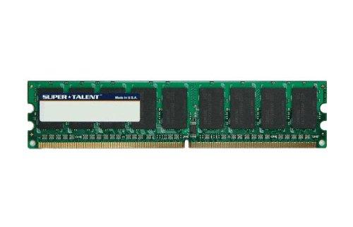 Super Talent DDR2-667 1GB/128x8 ECC Hynix Chip Server Memory T667EA1G/H, Bulk ()