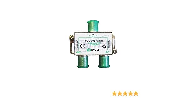 Ikusi udu-205 - Distribuidor 2 direcciónes con pc.: Amazon.es ...