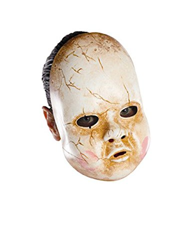 Disguise Costumes Baby Doll Mask, Adult ()