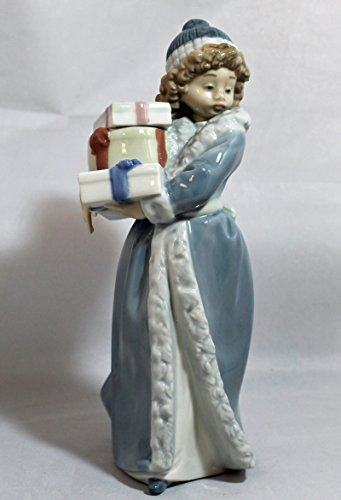 - Lladro Nao Porcelain Figurine, 484 Christmas Time