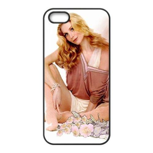 Elizabeth Mitchell 002 coque iPhone 5 5S cellulaire cas coque de téléphone cas téléphone cellulaire noir couvercle EOKXLLNCD23454