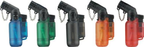 Jet Lighter - das Ultrakompakte Gasbrenner Feuerzeug hält jedem Sturm stand! Diverse Farben; Wiederaufladbar! Torch Lighter