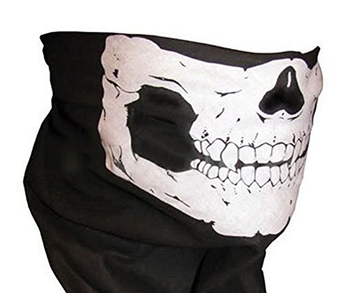 Ghost Skull Face Mask Cosplay Hood Cod Costume Biker Halloween Balaclava Skateboard Call of Duty - Call Of Duty Ghost Costume For Halloween