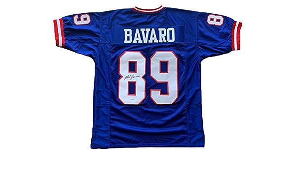 Mark Bavaro signed jersey NFL New York Giants PSA COA Notre Dame ...