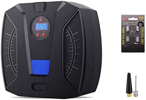 Compresor de aire portátil 12V Inflador de llantas para autos Bomba para llantas digital Apagado automático Presión de llantas preestablecida, ...