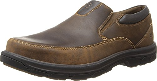 Leather Memory - Skechers USA Men's Segment The Search Slip On Loafer