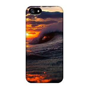 New Arrival Premium 5/5s Cases Covers For Iphone (amazing Sea Wave At Sunset)