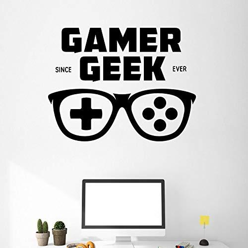 Juego Mango Gafas Etiqueta Gamer Calcomanía Gaming Posters Gamer ...