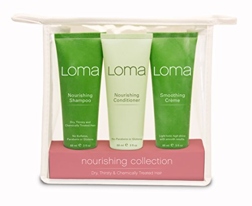 Loma Hair Care Nourishing Travel Kit (Cleansing Trio Kit)