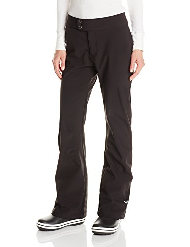 White Sierra Women's 29-Inch Inseam Full Moon Softshell Pant, Medium, Black